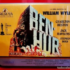 Cine: BEN-HUR (1959) - 1ª EDIC MGM. Lote 163397970