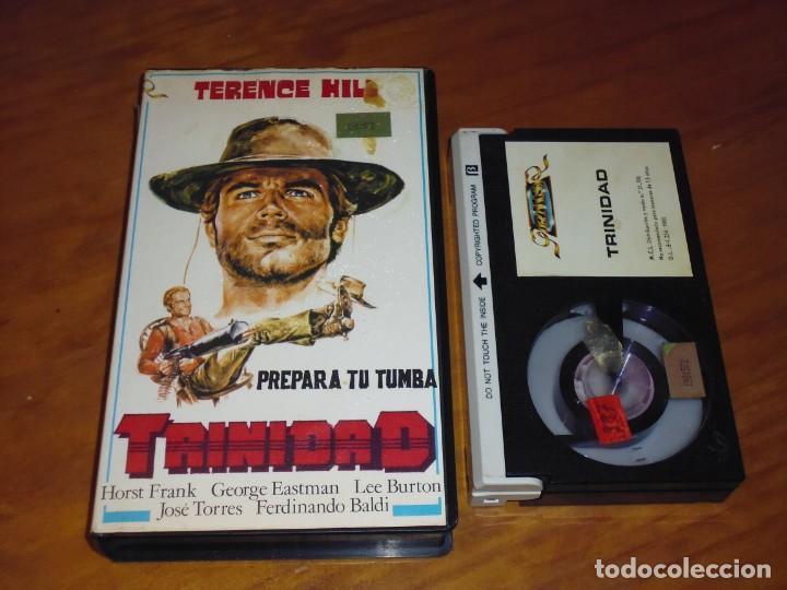 PREPARA TU TUMBA TRINIDAD . TERENCE HILL . WESTERN - BETAMAX (Cine - Películas - BETA)