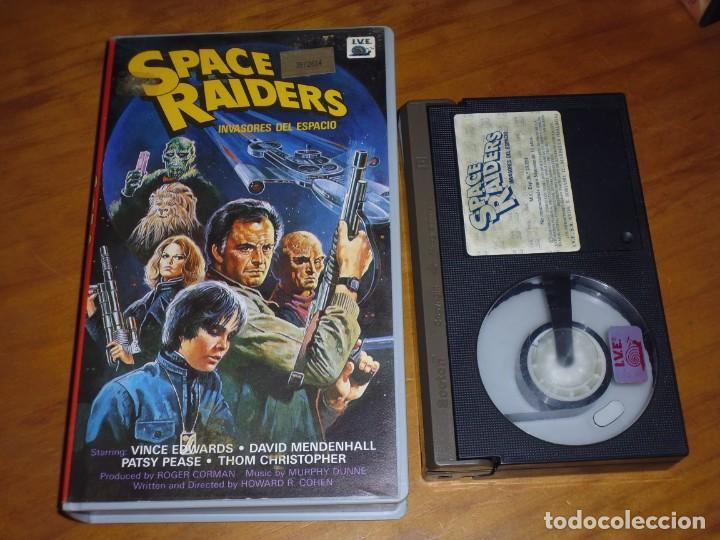 SPACE RAIDERS , INVASORES DEL ESPACIO - BETAMAX (Cine - Películas - BETA)