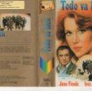 Cine: BETA - TODO VA BIEN - JANE FONDA YVES MONTAND - VIDEOTECHNICS - 1ª EDICION. Lote 165200922