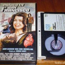 Cine: PANICO EN SAN FRANCISCO - GARRY GOODROW, MIKE CHAN, MAXWELL GAIL, MURRAY MINTZ - BETA. Lote 167970052