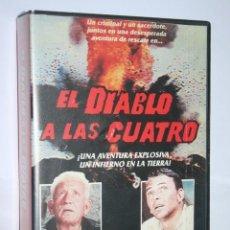 Cine: EL DIABLO A LAS CUATRO *** PELÍCULA CINE BETAMAX *** RCA COLUMBIA (1988). Lote 168839504