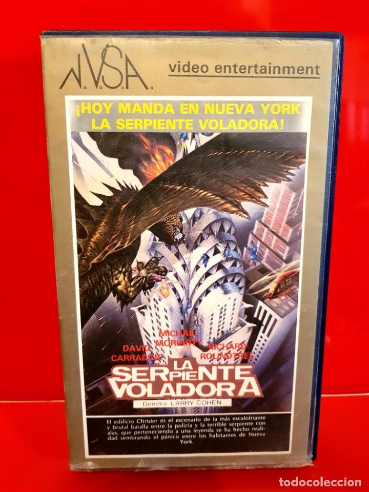 LA SERPIENTE VOLADORA (1982) - LARRY COHEN - CLASICO TEROR 80'S (Cine - Películas - BETA)