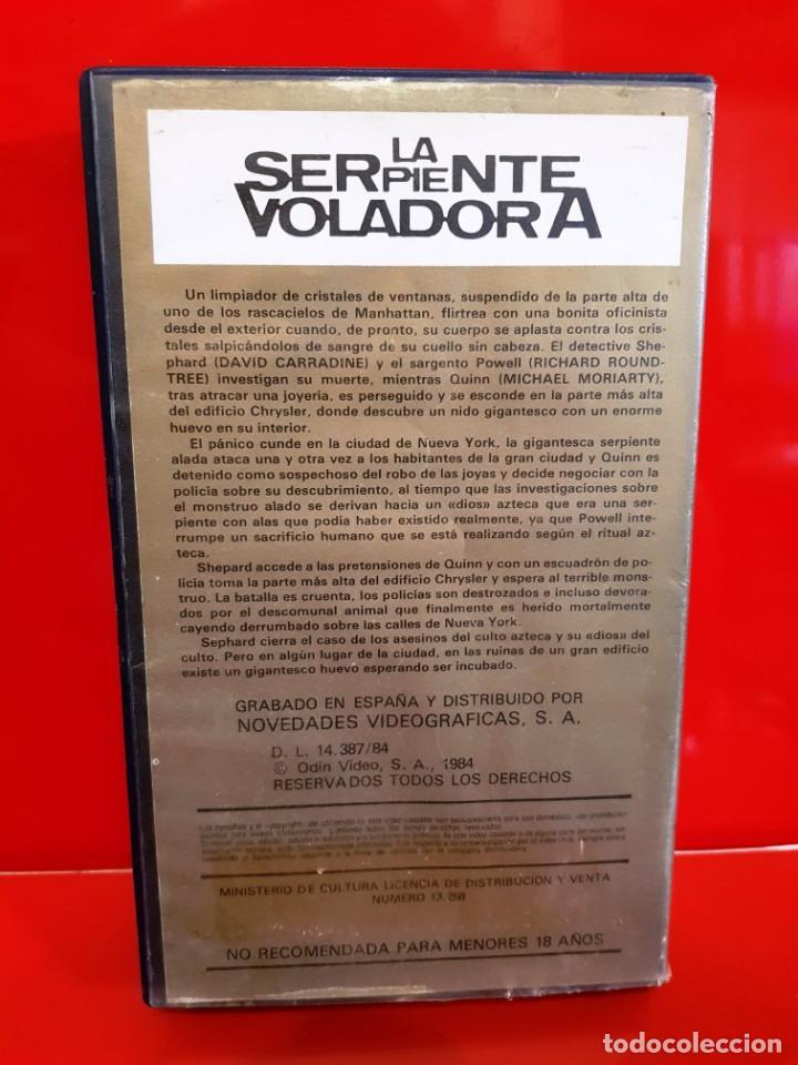Cine: LA SERPIENTE VOLADORA (1982) - LARRY COHEN - CLASICO TEROR 80S - Foto 2 - 170389108