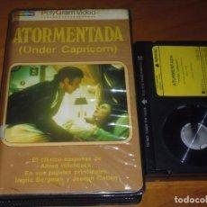 Cine: ATORMENTADA . ALFRED HITCHCOCK , INGRID BERGMAN , JOSEPH COTTEN - SUSPENSE - BETA - BETAMAX. Lote 171048910