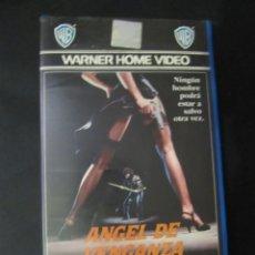 Cine: BETA ANGEL DE VENGANZA MS 45 ABEL FERRARA PELICULA DE CULTO 1ª EDICION WARNER HOME VIDEO. Lote 172148763
