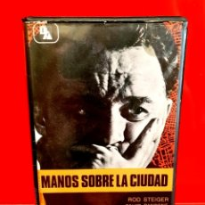 Cine: MANOS SOBRE LA CIUDAD (1963) - VIDEOTECHNICS UNICA EN TC. Lote 181758943