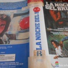 Cine: SOLO CARATULA SIN CINTA - LA NOCHE DEL BRUJO - 123. Lote 172512113