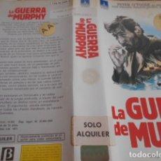 Cine: SOLO CARATULA SIN CINTA - LA GUERRA DE MURPHY - 142. Lote 172516039