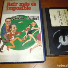 Cine: REIR MAS ES IMPOSIBLE . ANTONIO OZORES , JUANITO NAVARRO - BETA. Lote 173640990