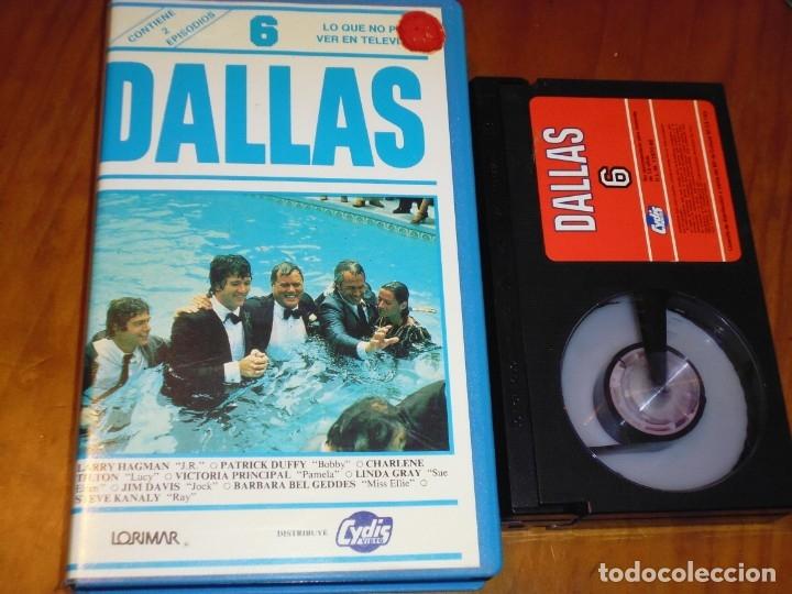 DALLAS 6 - BETAMAX CYDIS VIDEO - PEDIDO MINIMO 6 EUROS (Cine - Películas - BETA)