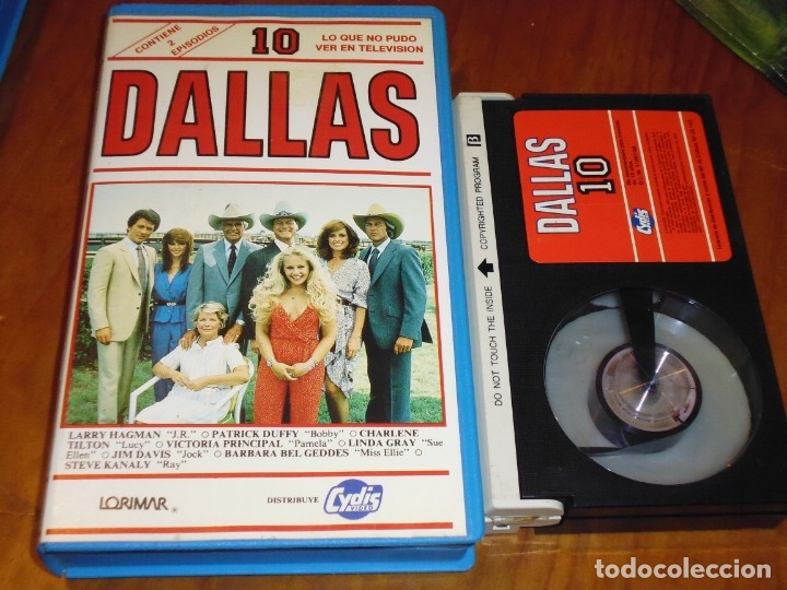 DALLAS 10 - BETAMAX CYDIS VIDEO - PEDIDO MINIMO 6 EUROS (Cine - Películas - BETA)