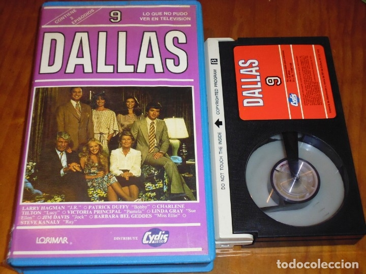 DALLAS 9 - BETA CYDIS VIDEO (Cine - Películas - BETA)