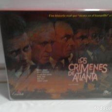 Cine: LOS CRIMENES DE ATLANTA , CAJA DOBLE - 2 CINTAS NUEVO , PRECINTADO . PELICULAS BETA NUEVAS.. Lote 175875915