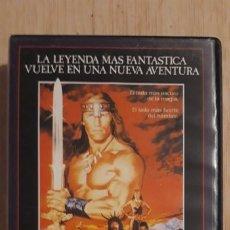 Cine: 1 VIDEO BETA DE ** CONAN EL DESTRUCTOR ** AÑO 1984 .SIN REVISAR. ORIGINAL. Lote 176700814