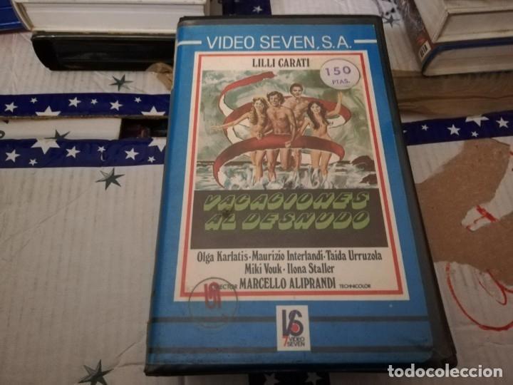 VACACIONES AL DESNUDO BETA ORIGINAL / LILLI CARATI / ILONA STALLER (CICCIOLINA (Cine - Películas - BETA)