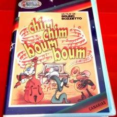 Cine: CHIM CHIM BOUM BOUM BRUNO BOZZETTO - DIBUJOS ANIMADOS RAREZA. Lote 177328470