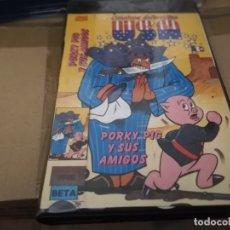 Cine: PORKY PIG Y SUS AMIGOS BETA ORIGINAL. Lote 178070467