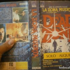 Cine: LA ZONA MUERTA¡1 EDICCION¡¡BETA¡DISPONEMOS,MAS 60.000,PELICULAS.EN¡VHS,BETA,2000¡. Lote 179044676