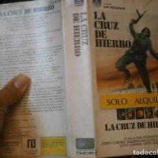 Cine: LA CRUZ DE HIERRO'1 EDICCION¡¡BETA¡DISPONEMOS,MAS 60.000,PELICULAS.EN¡VHS,BETA,2000¡. Lote 179044775
