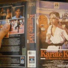 Cine: KARATE KID¡¡1 EDICCION¡¡BETA¡DISPONEMOS,MAS 60.000,PELICULAS.EN¡VHS,BETA,2000¡. Lote 179044965