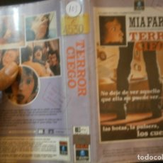 Cine: TERROR CIEGO¡¡1 EDICCION¡¡BETA¡DISPONEMOS,MAS 60.000,PELICULAS.EN¡VHS,BETA,2000¡. Lote 179045491