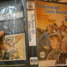 Cine: EN BUSCA DEL CIELO DORADO¡1 EDICCION¡¡BETA¡DISPONEMOS,MAS 60.000,PELICULAS.EN¡VHS,BETA,2000¡. Lote 179045851