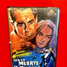 Cine: CON LA MUERTE EN LOS TALONES (1983) - ALFRED HITCHCOCK - CARY GRANT , EVE MARIE SAINT - MGM. Lote 182234428