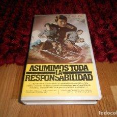 Cine: ASUMAMOS TODA LA RESPONSABILIDAD BETA BELICO SOVIETICO - UNICA EN TC MUY RARA. Lote 182312460