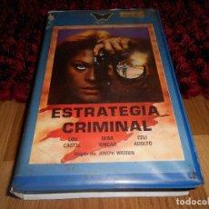 Cine: ESTRATEGIA CRIMINAL ~ GIUSEPPE VARI ~ LOU CASTEL / BEBA LONCAR. Lote 182316592