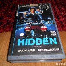 Cine: PELICULA HIDDEN (LO OCULTO) DVD MICHAEL NOURI KYLE MACLACHLAN BETA. Lote 182324292