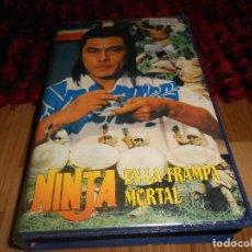 Cine: NINJA EN LA TRAMPA MORTAL - ARTES MARCIALES, KARATE, KUNG-FU. Lote 182348390