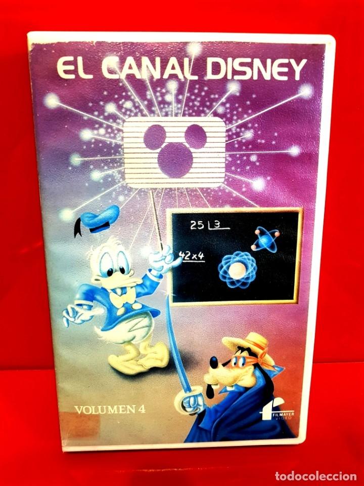 EL CANAL DISNEY - VOL. 4 - 1ª EDICIÓN WALT DISNEY (Cine - Películas - BETA)
