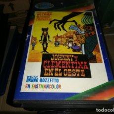 Cine: JOHNNY Y CLEMENTINA EN EL OESTE - BETA ORIGINAL- DIR. BRUNO BOZZETTO . Lote 182721557