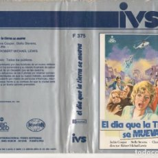 Cinema: BETA - EL DIA QUE LA TIERRA SE MUEVA - ROBERT MICHAEL LEWIS. Lote 186430691