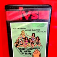 Cine: AUNQUE LA HORMONA SE VISTA DE SEDA (1971) - ALFREDO LANDA, MANUEL SUMMERS. Lote 187146315