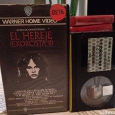 Cine: EL HEREJE (EXORCISTA II) BETA (DOBLAJE ORIGINAL DE CINES). Lote 187227152