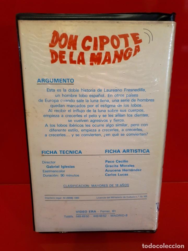 Cine: DON CIPOTE DE LA MANGA (1985) - RAREZA COMEDIA DE TERROR Beta - Foto 2 - 187464441