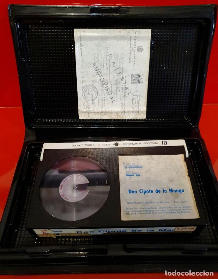 Cine: DON CIPOTE DE LA MANGA (1985) - RAREZA COMEDIA DE TERROR Beta - Foto 3 - 187464441