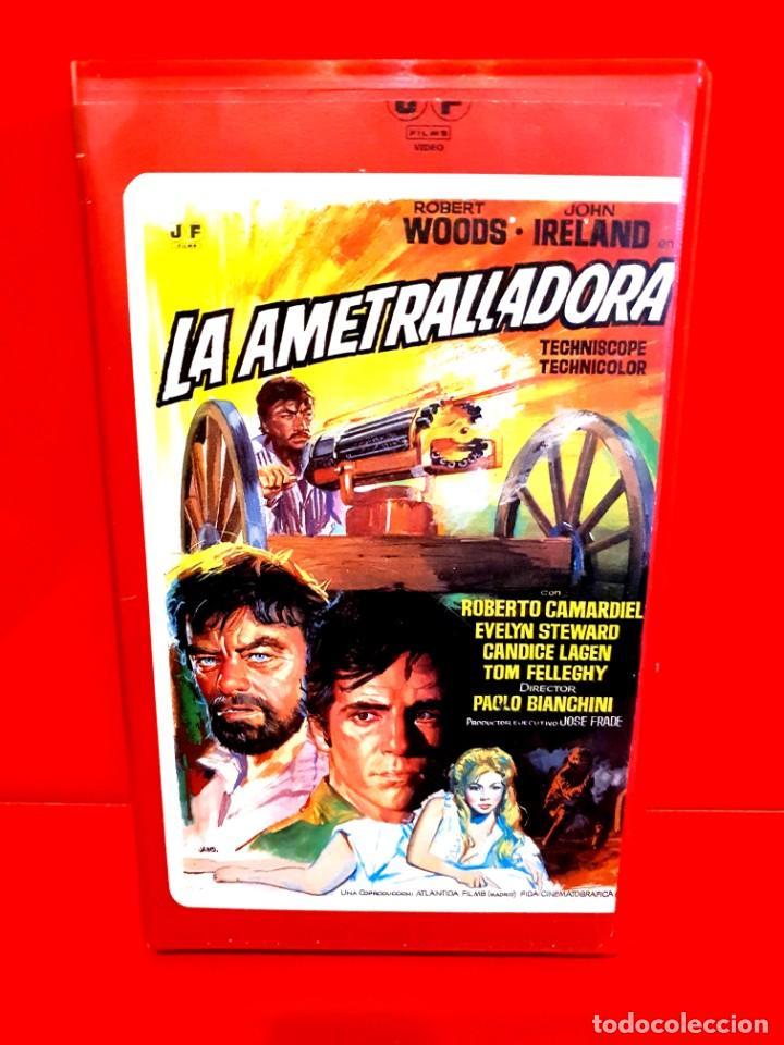 LA AMETRALLADORA (1968) - QUEL CALDO MALEDETTO GIORNO DI FUOCO - SPAGHETTI WESTERN (1ª EDIC J.FRADE) (Cine - Películas - BETA)