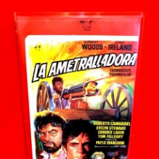 Cine: LA AMETRALLADORA (1968) - QUEL CALDO MALEDETTO GIORNO DI FUOCO - SPAGHETTI WESTERN (1ª EDIC J.FRADE). Lote 187476036