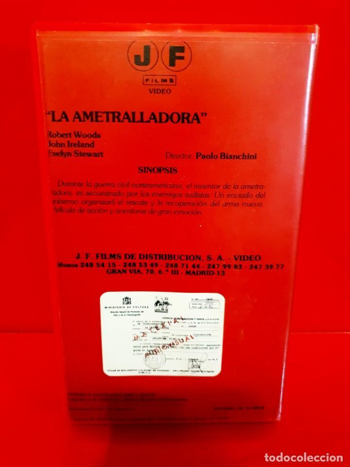 Cine: LA AMETRALLADORA (1968) - Quel caldo maledetto giorno di fuoco - Spaghetti Western (1ª Edic J.FRADE) - Foto 2 - 187476036
