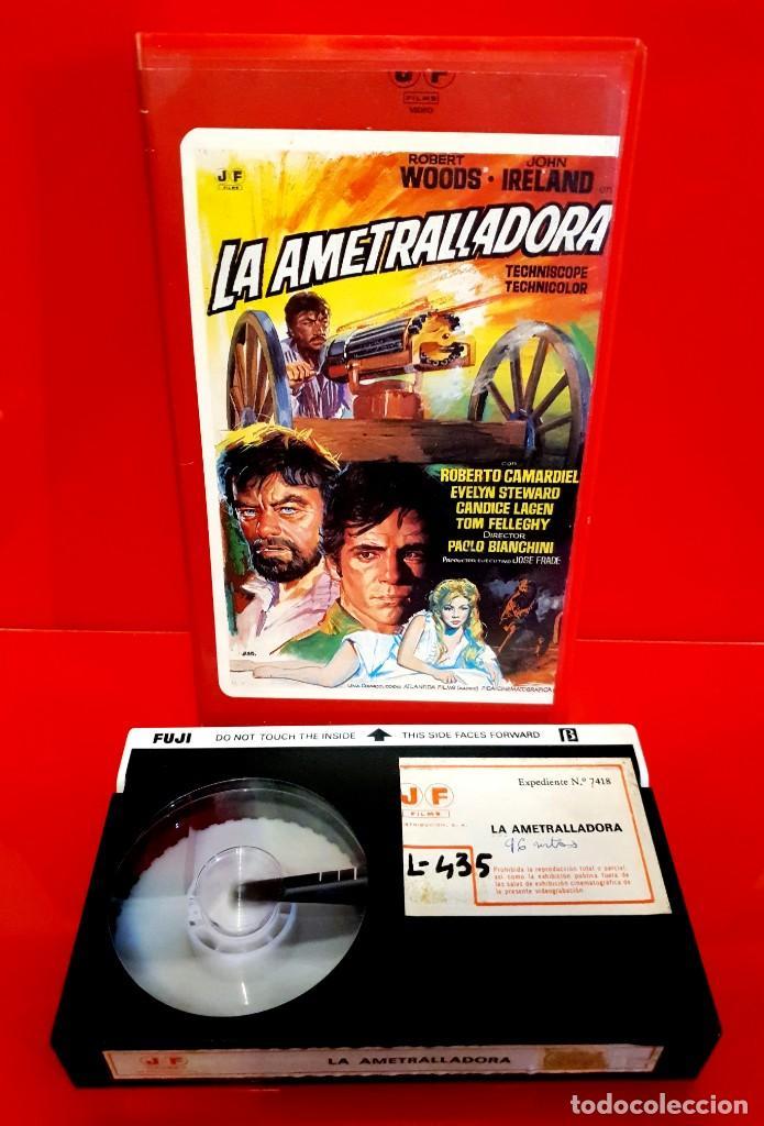 Cine: LA AMETRALLADORA (1968) - Quel caldo maledetto giorno di fuoco - Spaghetti Western (1ª Edic J.FRADE) - Foto 3 - 187476036