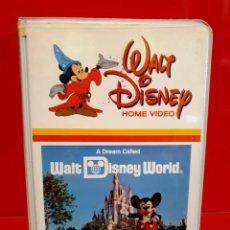 Cine: A DREAM CALLED WALT DISNEY WORLD - PRECIOSA EDICIÓN PARA COLECCIONISTAS. Lote 187476835