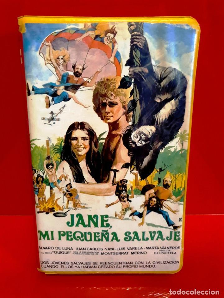 JANE MI PEQUEÑA SALVAJE (1982) - ALVARO DE LUNA - JUAN CARLOS NAYA - LUIS VARELA (Cine - Películas - BETA)