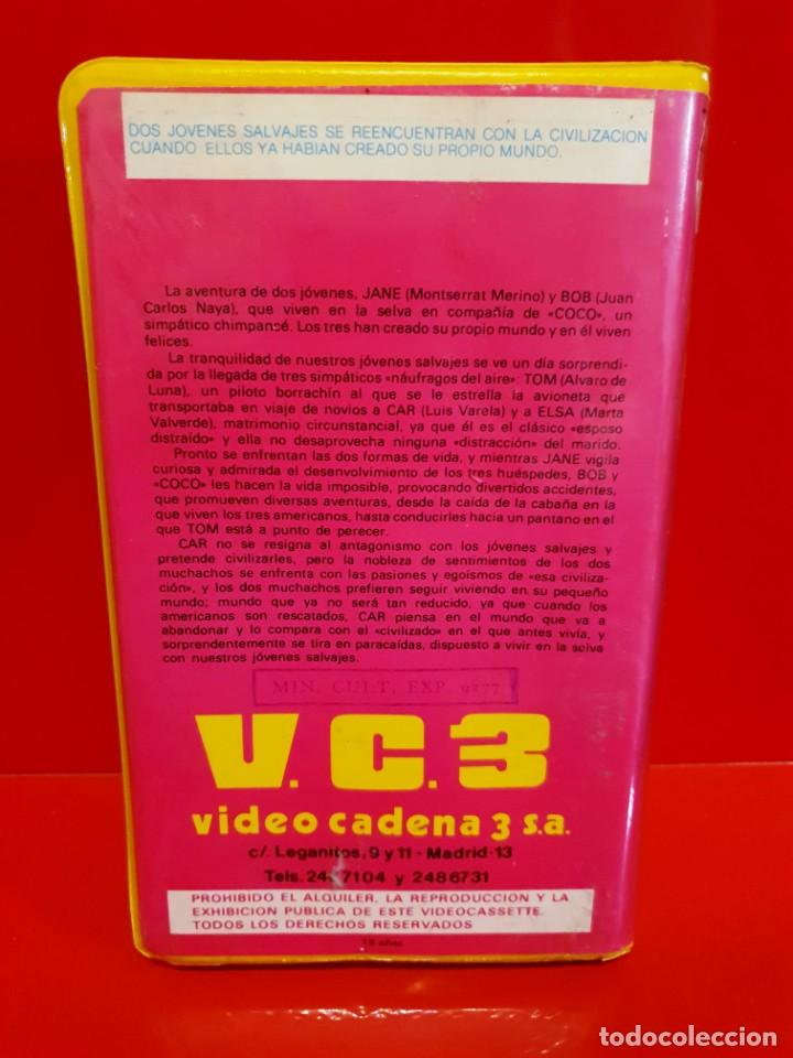Cine: JANE MI PEQUEÑA SALVAJE (1982) - ALVARO DE LUNA - JUAN CARLOS NAYA - LUIS VARELA - Foto 2 - 188525416