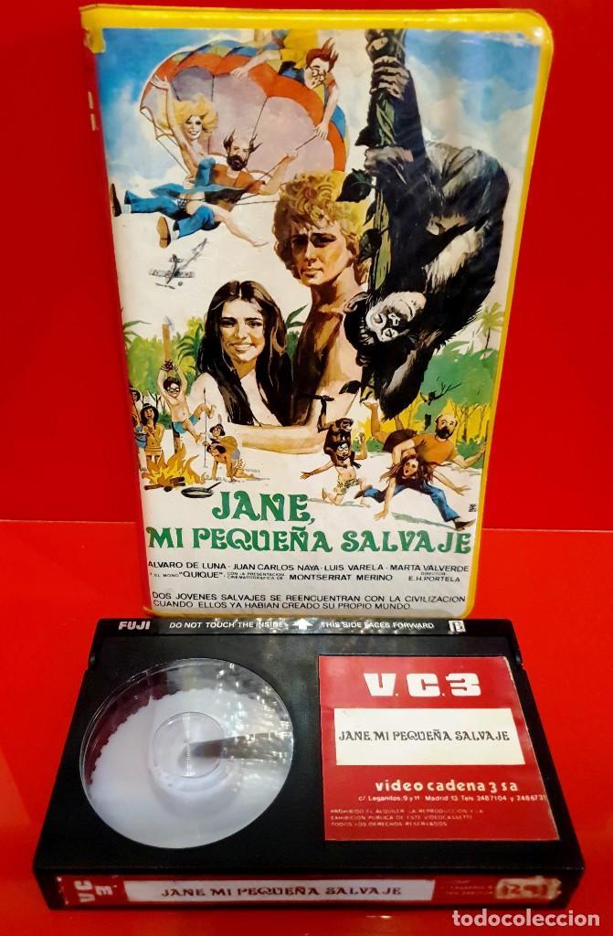 Cine: JANE MI PEQUEÑA SALVAJE (1982) - ALVARO DE LUNA - JUAN CARLOS NAYA - LUIS VARELA - Foto 3 - 188525416