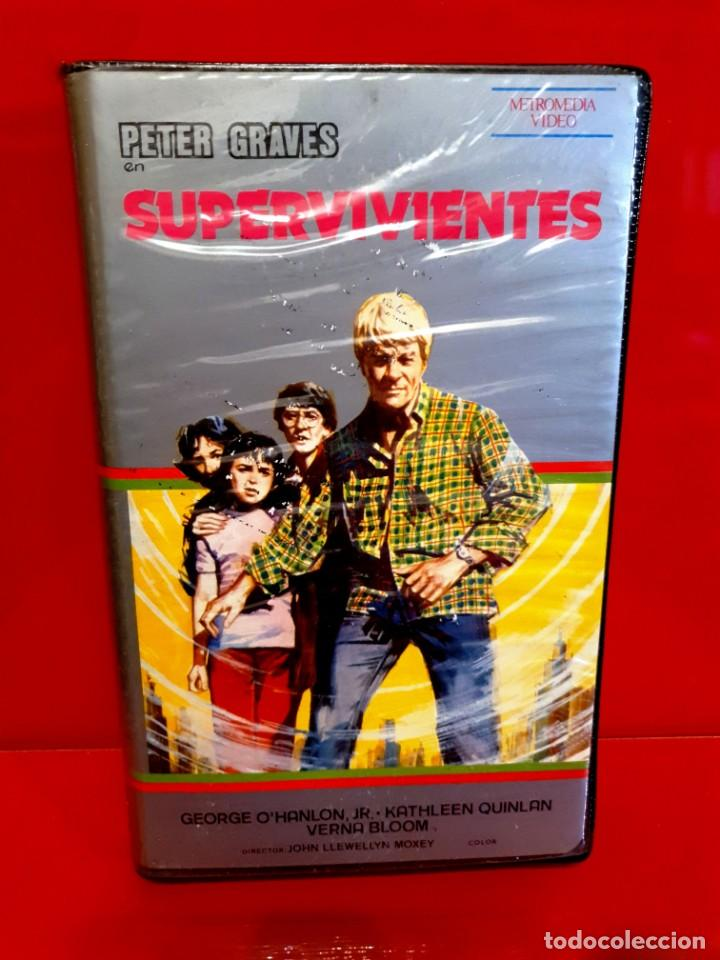 SUPERVIVIENTES - PETER GRAVES - J0HN LLEWELLYN MOXEY (Cine - Películas - BETA)