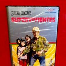 Cine: SUPERVIVIENTES - PETER GRAVES - J0HN LLEWELLYN MOXEY. Lote 188610218