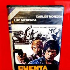 Cine: CUENTA SALDADA (1976) - IL CONTO È CHIUSO - CARLOS MONZON, LUC MERENDA. Lote 189448980